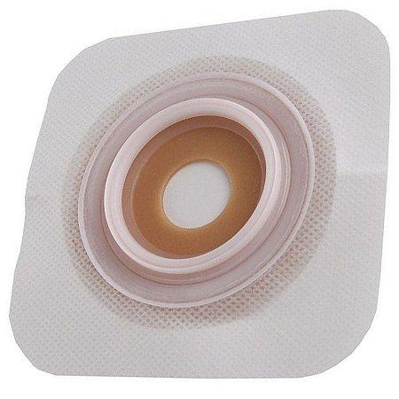 Placa de Colostomia Sur-Fit Plus Convexa Convatec - Caixa com 5 Unidades