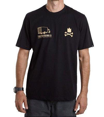 Camiseta Truck - Throws Delivery  - Preta