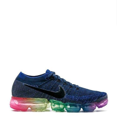 Tênis Nike Air VaporMax Flyknit Azul Colors