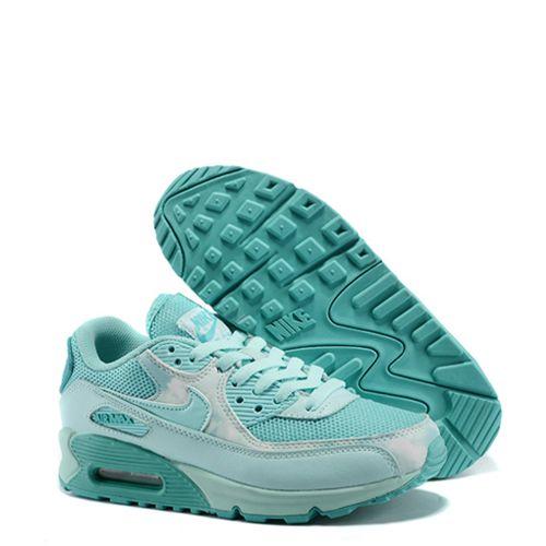 Tênis Nike Air Max 90 Feminino Verde Água