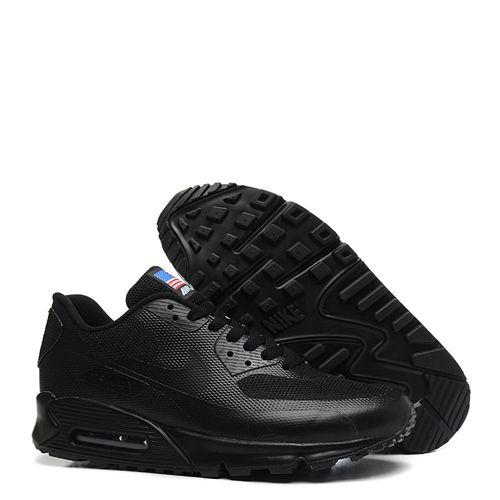 Tênis Nike Air Max 90 USA Hyperfuse QS All Black