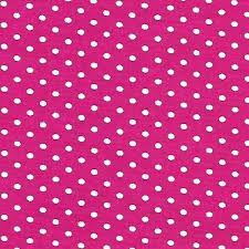 Tricoline 100% algodão Poá - Pink com bolinhas brancas Circulo 1598 - 0,50cm
