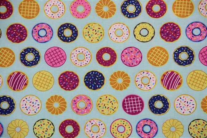 Tecido Círculo Fun Cupcakes - 2230 - 0,50cmx1,46 Mts