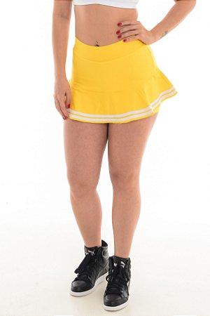 Short Saia Colegial - Amarelo 8706