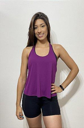 Blusa Frente Unica - Roxa 8224