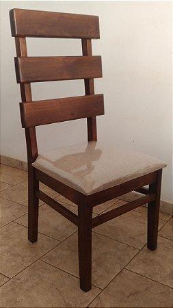 Cadeira Rústica Madeira Maciça