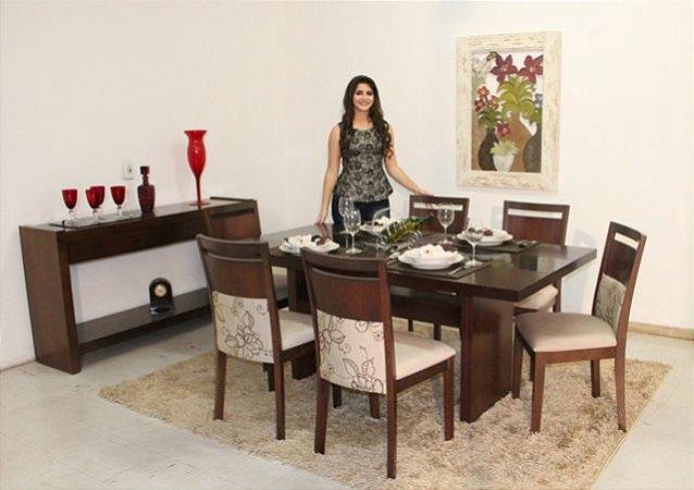 Sala de Jantar Castanho