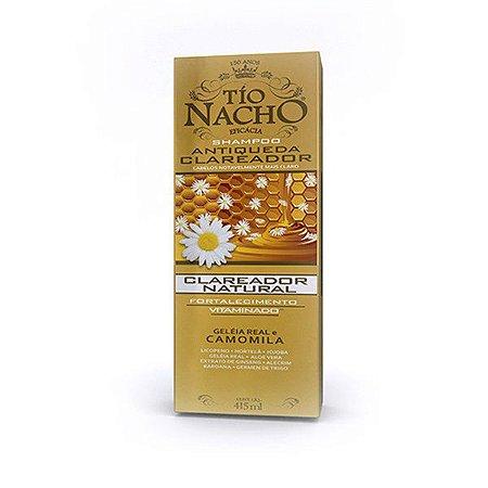 Shampoo Tio Nacho Antiqueda Clareador com 415 ml