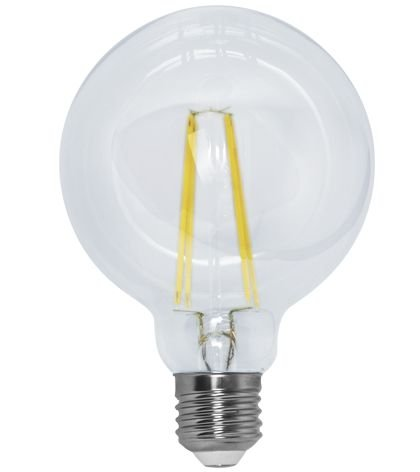 Lâmpada Filamento G95  Bivolt 100V - 240V  Só Aqui