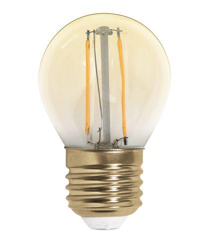 Lâmpada Filamento de Carbon G45  Bivolt 100V - 240V  Só Aqui