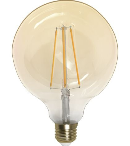 Lâmpada Filamento de Carbon G120  Bivolt 100V - 240V  Só Aqui