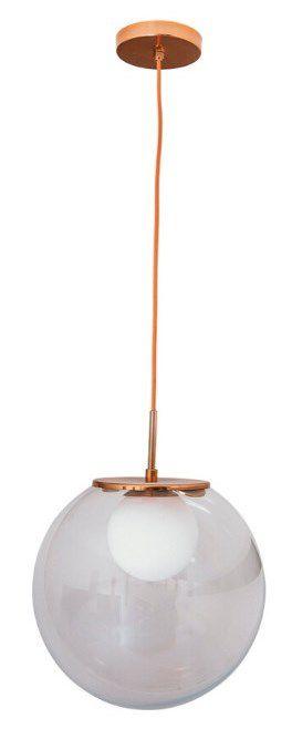 Pendente Prince 1 Globos 30cm Design Diferenciado Aproveite