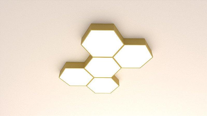 Plafon Hexa 55cm Confira