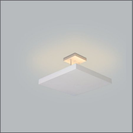 Plafon Home 50cm Luz Indireta Confira