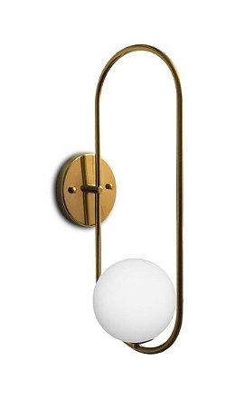 Arandela Pêndulo 1 Globo 12 cm Design Sofisticado Confira