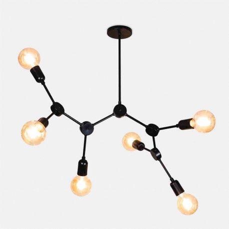 Pendente Átomo 6 Lâmpadas Exclusividade