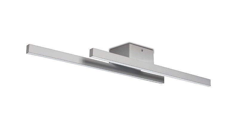 Plafon Kit 3000K com Led Integrado 18w Bivolt 60cm Confira