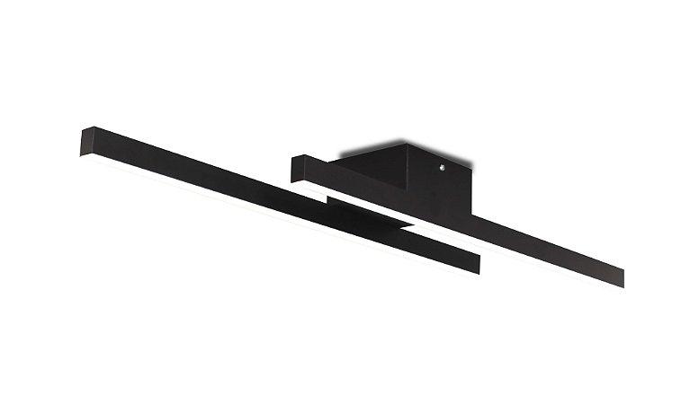 Plafon Kit 4000K com Led Integrado 18w Bivolt 60cm Confira
