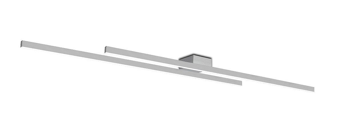 Plafon Kit 4000K com Led Integrado 38w Bivolt 1,20mt Confira