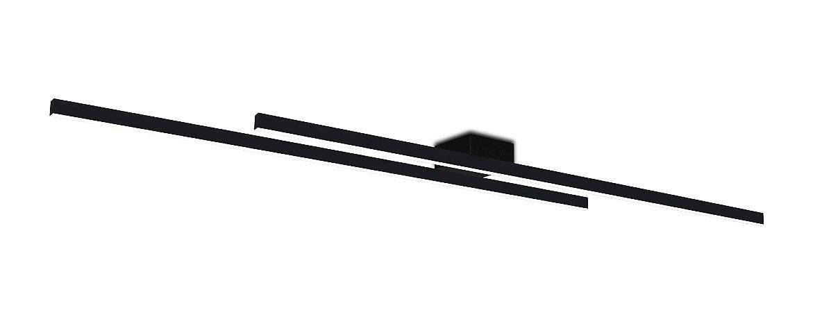 Plafon Kit 3000K com Led Integrado 38w Bivolt 1,20mt Confira