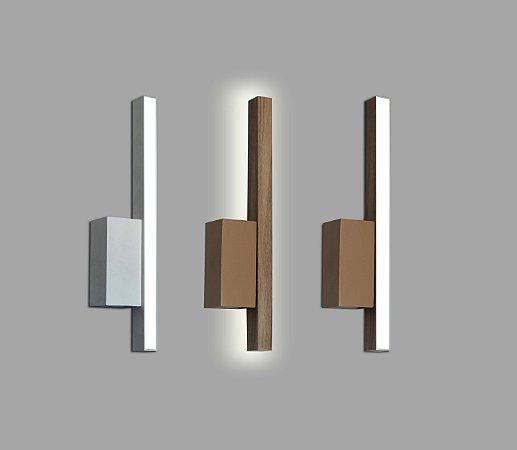 Arandela Style Luz Indireta 3000K com Led Integrado 5w Bivolt 30cm Confira