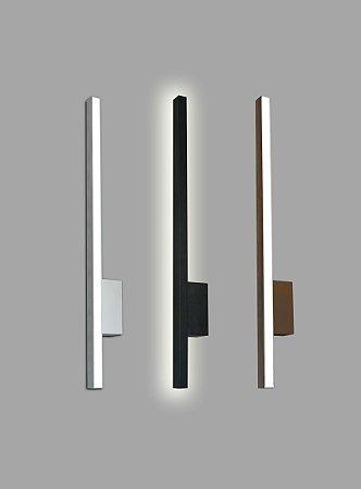 Arandela Style Luz Indireta 3000K com Led Integrado 8,5w Bivolt 60cm Confira