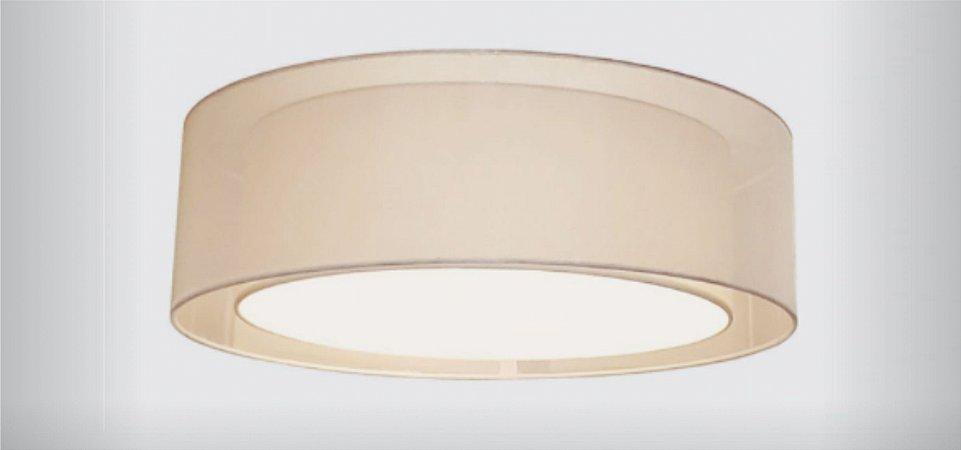 Plafon Classic em Voil e Tecido 60cm Aproveite