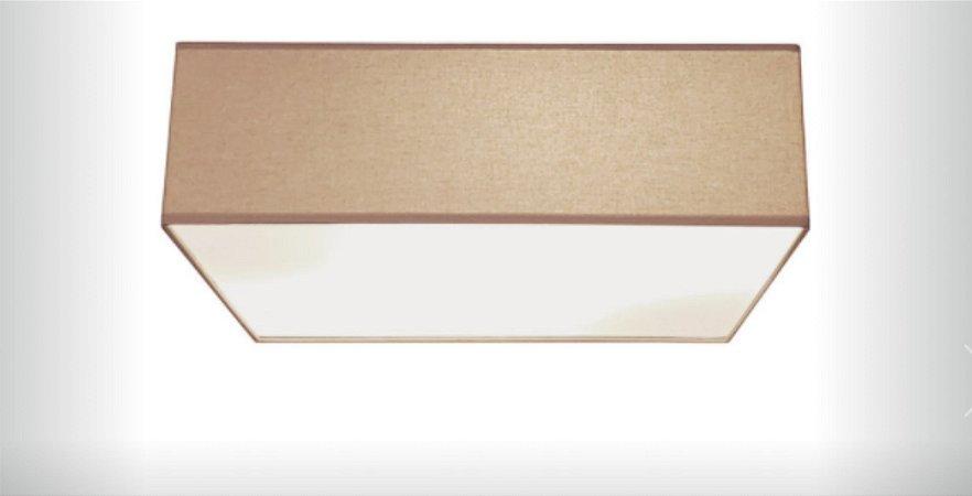 Plafon Quadrato em Tecido 40cm Aproveite