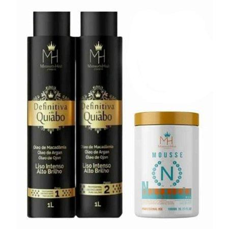Kit Definitiva e Mousse nutrição maranata hair