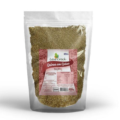 Quinoa Graos - Leve Crock 200G