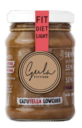 Cajutela Low Carb - Gula Fit Food - 170g