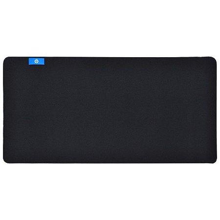 Mousepad Gamer HP - Grande 70 x 35 cm - Preto