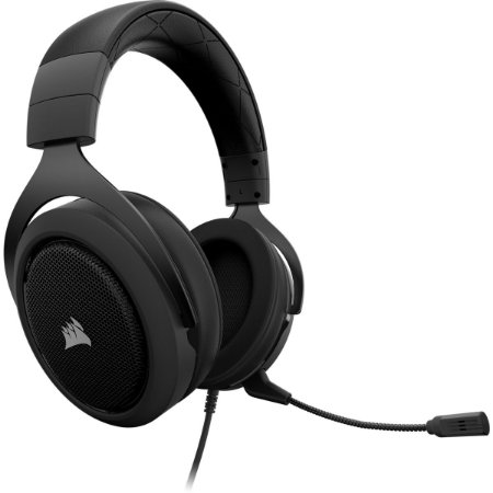 Headset Gamer Corsair HS60 Virtual 7.1 Surround Carbon