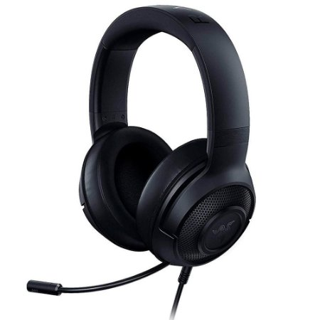 Razer - Headset Gamer Kraken X 7.1 - Xbox One / PS4 / Switch / PC - Preto