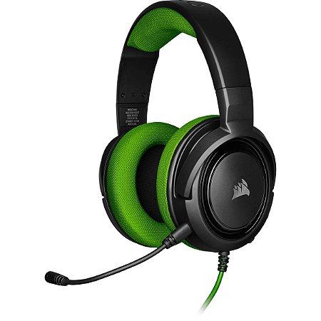 Headset Gamer Corsair HS35 Stereo Green