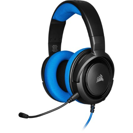 Headset Gamer Corsair HS35 Stereo Blue