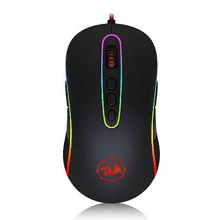 Mouse Gamer Redragon Phoenix Chroma - 10.000 dpi - Preto RGB
