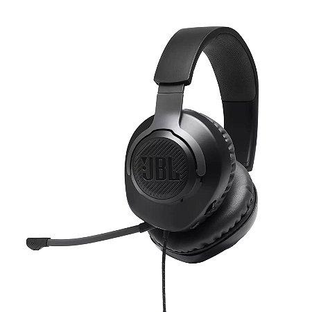 Headset Gamer JBL Quantum 100 Preto P3