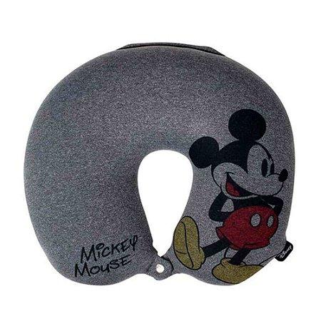 Almofada de Pescoço Mickey Mouse Cinza