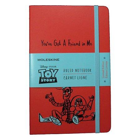 CadernoToy Story Woody e Buzz Moleskine A5