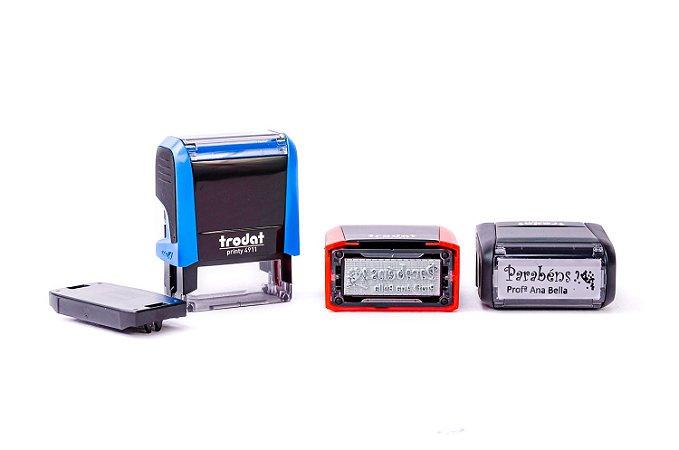 Carimbo Automático Personalizado -  Trodat 4911 P4 (14x38mm )