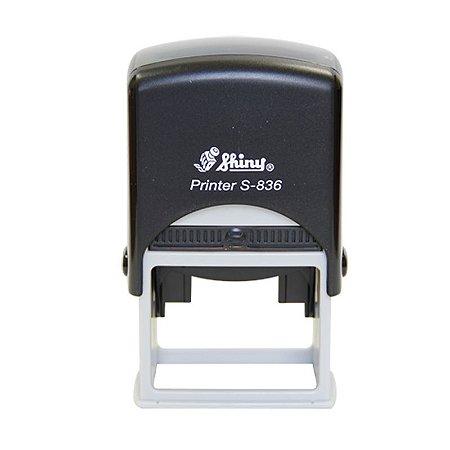 Carimbo Automático Shiny Printer S-836 - 30X45 mm