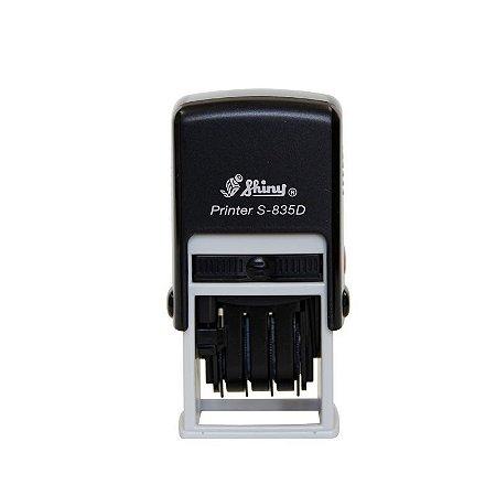Carimbo Datador Shiny Printer S 835 D - 20X30 mm