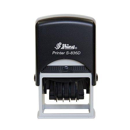 Carimbo Datador Shiny Printer S 836 D - 30X45 mm