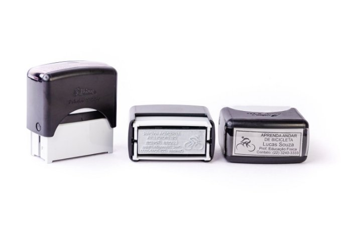 Carimbo Automático Shiny Printer S-224 - 22x58 mm