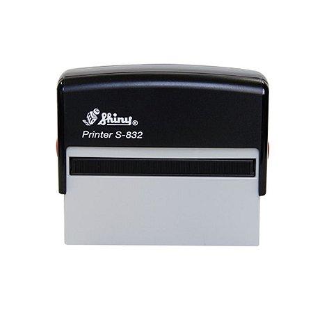 Carimbo Automático Shiny Printer S-832 - 15x75 mm