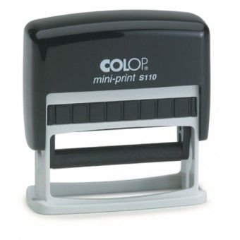 Carimbo Automático Colop Mini-print S 110 - 8x52 mm (Base lisa)