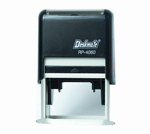 Carimbo Automático Deskmate RP 4060 - 40x60 mm (Padrão da Receita Federal para CNPJ)