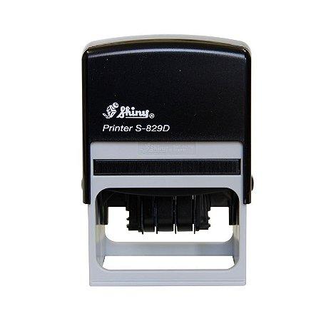 Carimbo Datador Shiny Printer S 829 D - 40x64 mm