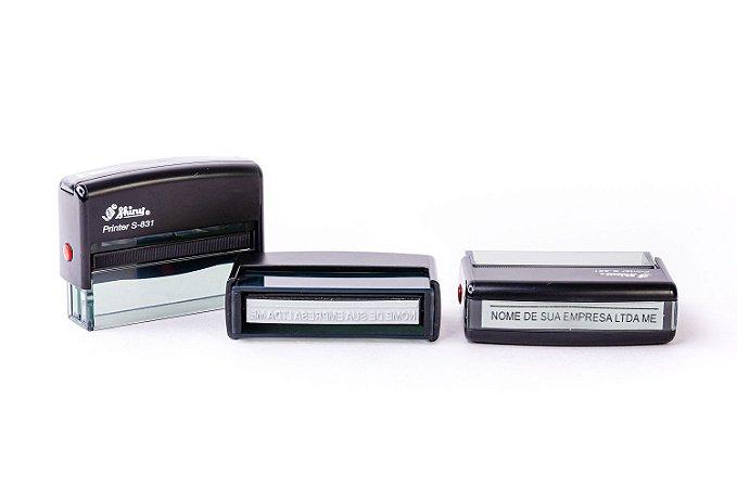 Carimbo Automático Shiny Printer S-831 - 10x70 mm (Assinatura PJ)